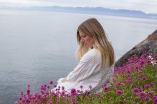 flowers&sea